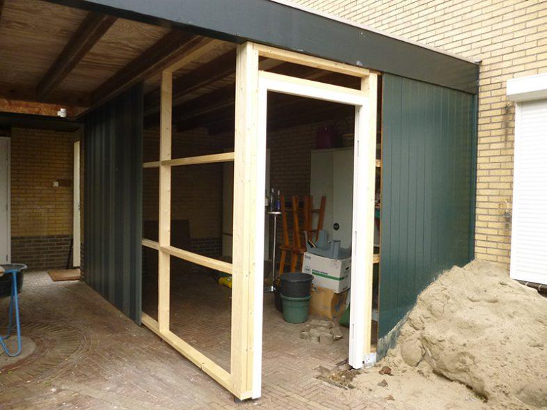 Verbouwing garage particulier